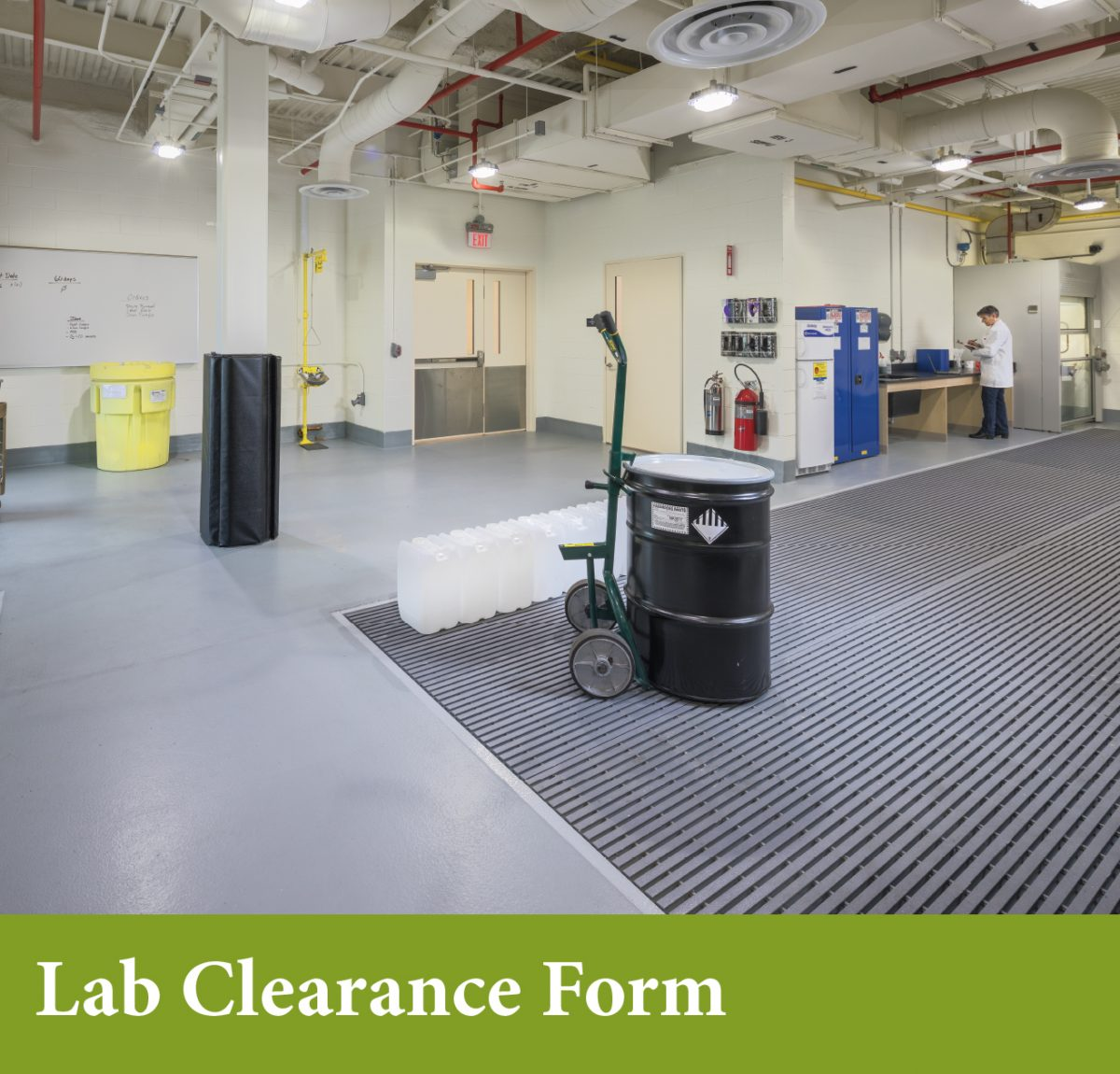 Lab Clearance Form