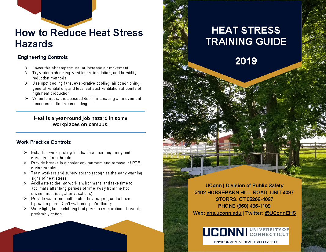 Heat Stress Training Guide Page 1