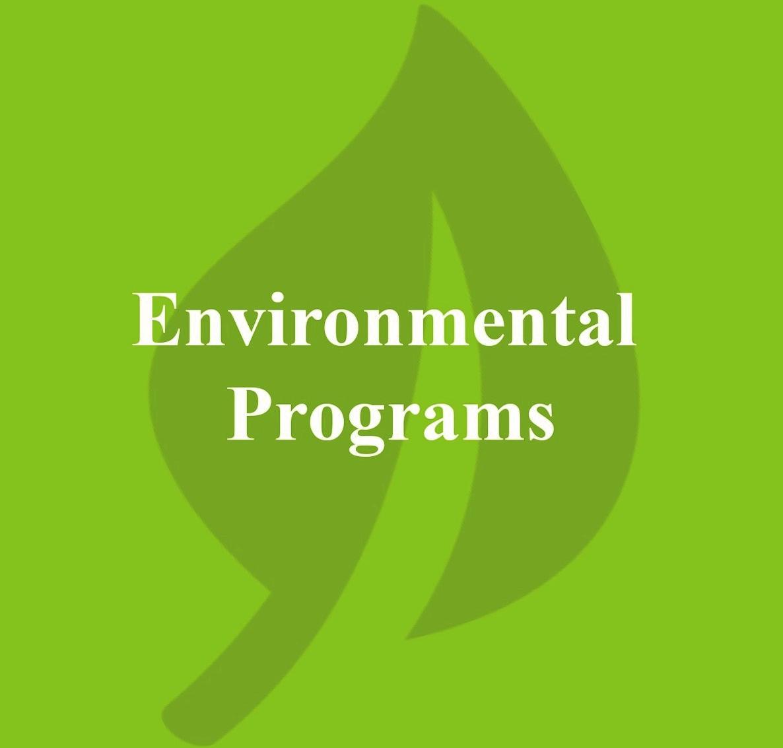 Environmental Programs