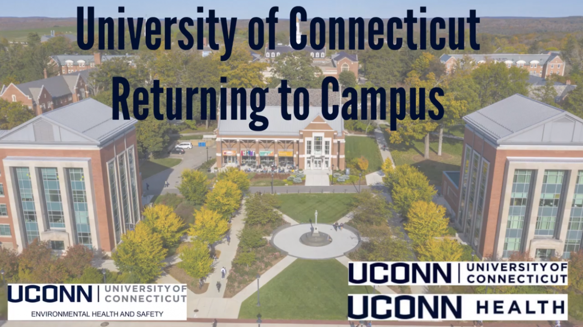 University of Connecticut Returning to Campus