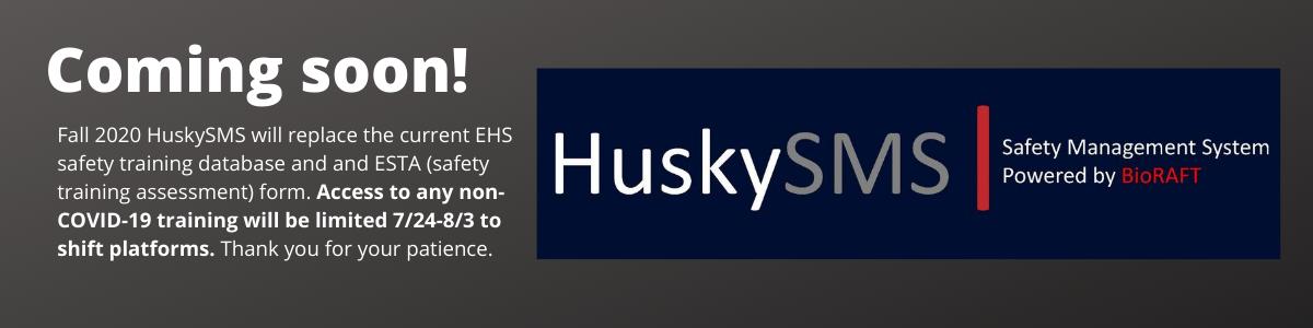 HuskySMS Coming Soon
